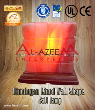 Best Himalayan Lined Wall Shape Rock Salt Lamp Buy Himalayan Decoration Salt Lamp Rock Salt Lamps Salt Lamps Product On Alibaba Com