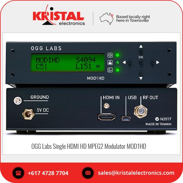 Ogg Labs Single Hdmi Hd Mpeg2 Modulator Mod1hd