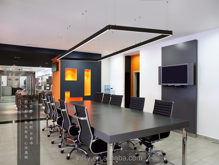 Inlity led linear pendant light 18W 4000K led linear office lighting