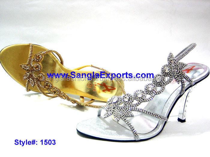 2015 Latest Fashion Ladies Sandals,New Designs Heel Sandals