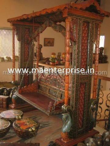 Wooden Swing Rajasthan Rajwadi Jhula