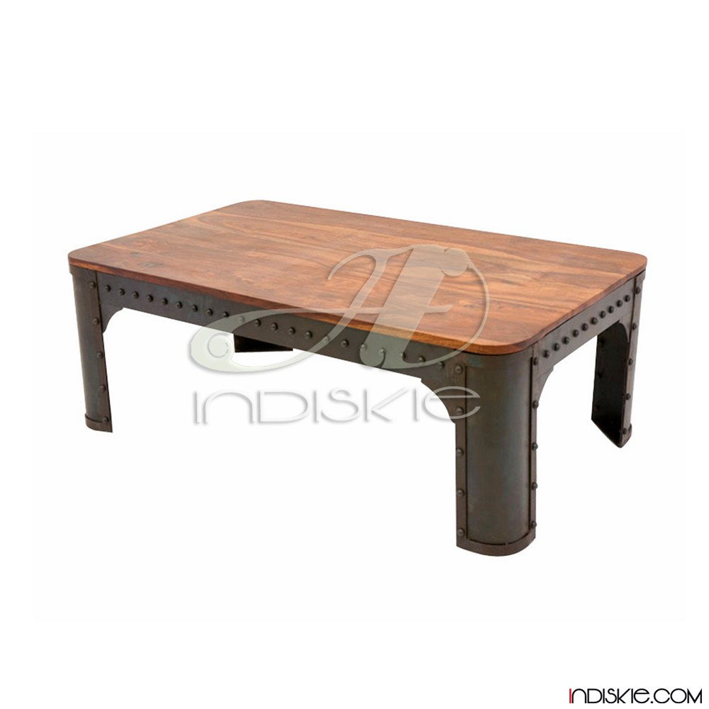 Industrial Riveted Metal Coffee Table, Industrial Riveted Metal Coffee  Table Suppliers And Manufacturers At Alibaba.com