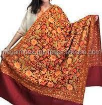 Afghan PATOO Couverture Laine Châle Écharpe Long Patu wrap épais Pachtounes Hommes Femmes
