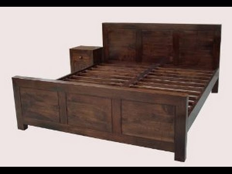 get quotations wooden double bed frame - Bed Frame Deals
