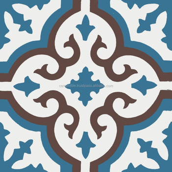 Encaustic cement tile - CTS 1.8