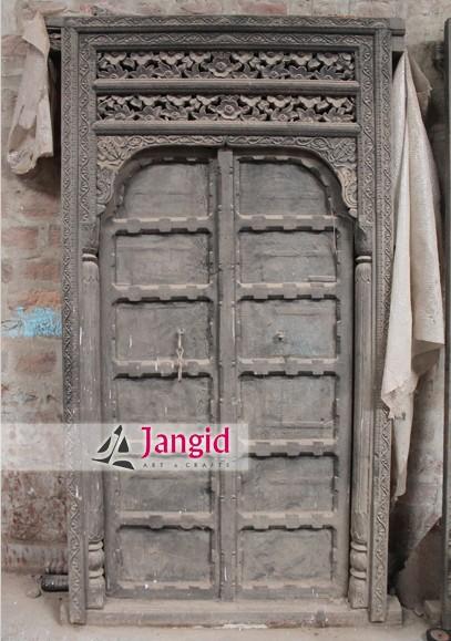 Village Handicrafts Vintage Handmade Old Doors