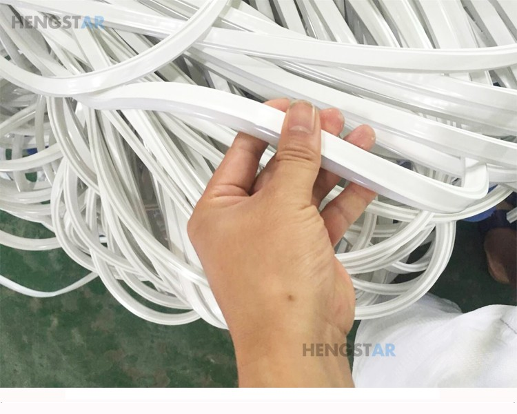 flexible frosted plastic tube