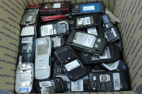 Cell Phones without battery scrap