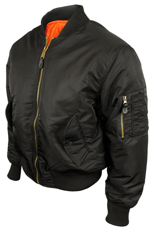 Ma 1 Flight Jacket Black - Coat Nj