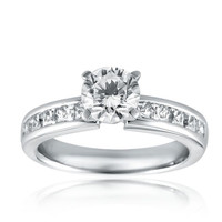 SUPER QUALITY EXCELLENT DESIGN NATURAL DIAMOND WEDDING ENGAGEMENT RING AT WHOLESALE PRICES