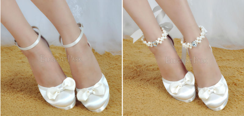 Detail Feedback Questions about Woman Shoes Wedding Bridal White ... 70362a9fd711