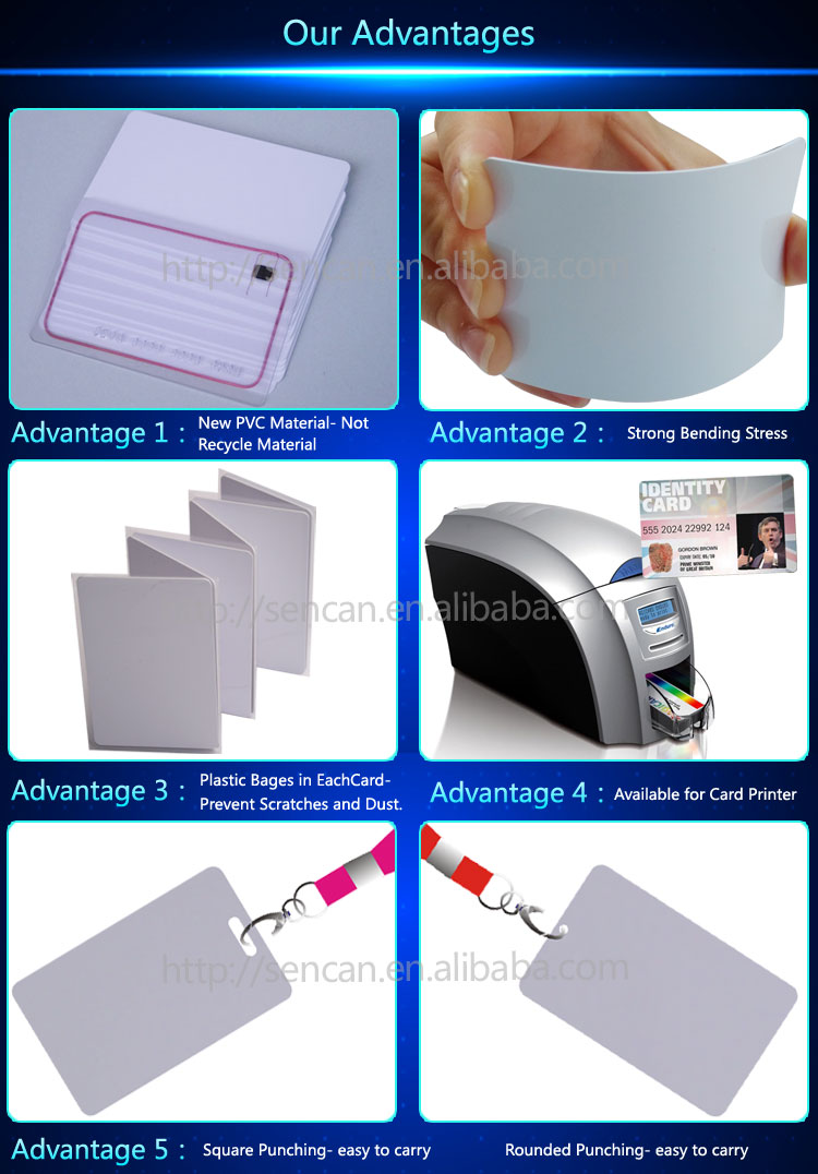 Factory Price A3 A4 Size Pvc Card Material,Inkjet Printing No ...