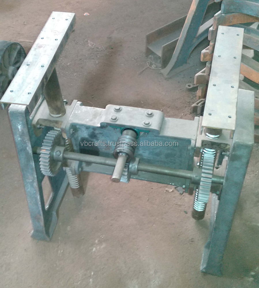 Industrial Crank Coffee Table Buy Industrial Crank Table Baseheavy Mechanical Tablemechanical Look Cast Iron Table Product On Alibabacom