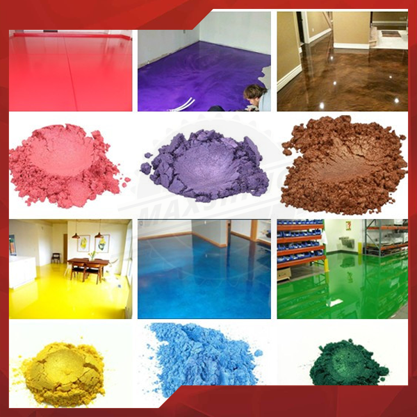 Metallic Epoxy Resin Chip Flakes Pearlescent Pigment For