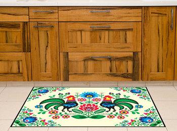 Pvc Vinyl Karpet 60x80 Cm Tikar Ayam Jantan Lantai Dapur