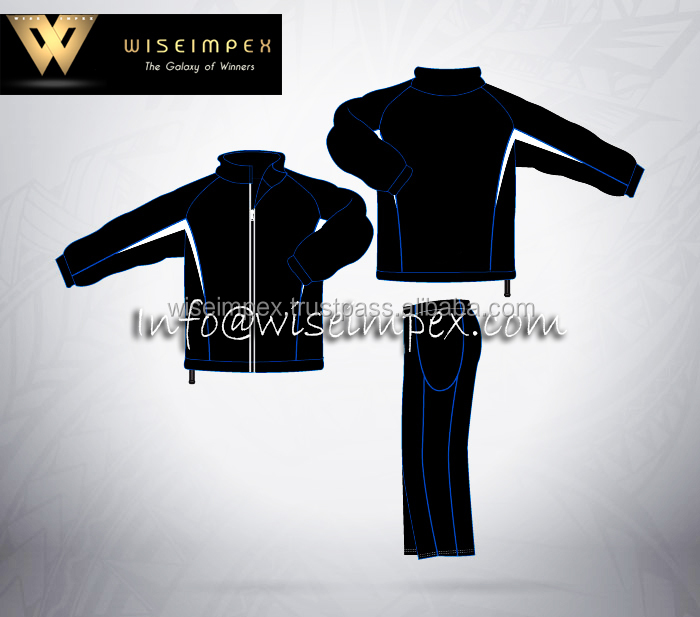 08 Cut and Sew Sports wear Track Suit jogging gym wear Supplier