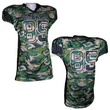 5b3670463 American Football Jersey   Camo   Gx Af 046 - Buy Custom American ...