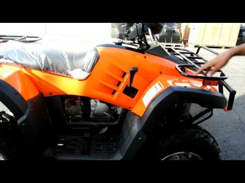 Monster 300cc ATV video