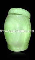 Natural Marble Onyx Designed Marble Jar / Marble Handicrafts / Marble Jar /