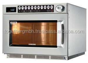 programmable stainless steel commercial microwave oven for hotels, catering, restaurants, bars