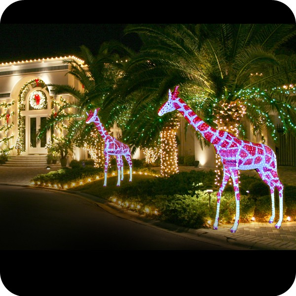 animated commercial christmas decorations indoor and outdoor christmas deer decorations 10348