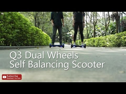 Q3 Dual Wheels Self Balancing Electric Scooter review - Gearbest.com