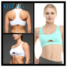 Kiteng razorback high quality Sports Bra with wicking fabric and padding Office In United States (USA) small minimum