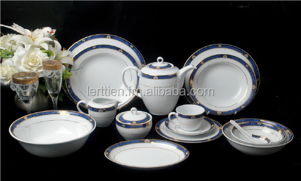 Porcelain Dinnerware Pattern Precious Blue - Buy Royal Porcelain Dinnerware Product on Alibaba.com & Porcelain Dinnerware Pattern Precious Blue - Buy Royal Porcelain ...