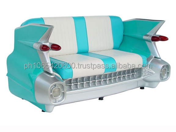 American car sofa's made from fiberglass