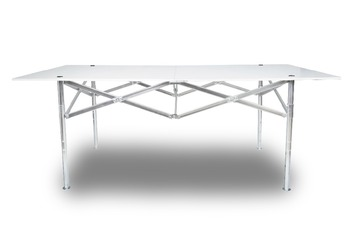 Outdoor 1 8m Steel Frame Wood Top Folding Table Buy Folding High Top Table Product On Alibaba Com