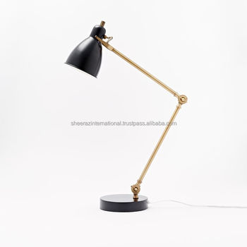 Modern industrial black study foldable table lamp 3 buy modern modern industrial black study foldable table lamp 3 aloadofball Choice Image