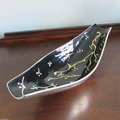 Aluminum Enamel Black Fruits Bowl | Aluminium Enamel Chocolate Bowl