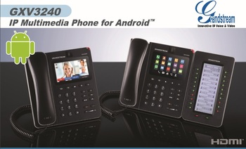Gxv3240 Android Video Ip Phone With 4 3