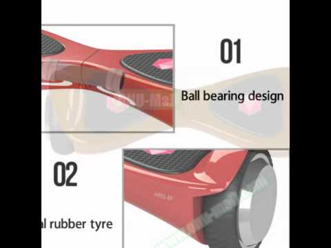 New Design 2 Wheel Bluetooth Self-Balancing electric Scooter hoverboard certified by UL CE ROHS FC