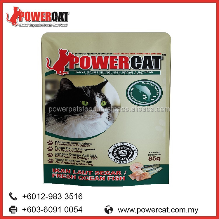 High Quality Fresh Ocean Fish Flavor Cat Food