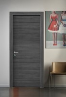 Interior wooden doors available in many colours: cherry, national walnut, varnished white oak