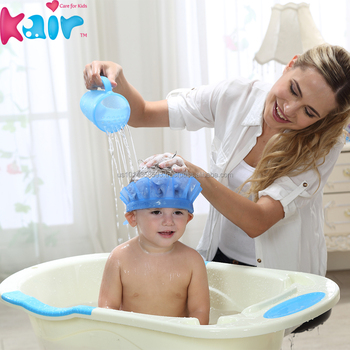 Baby Bath Cap Shampoo Hat Popular Baby Shower Cap Safety Products