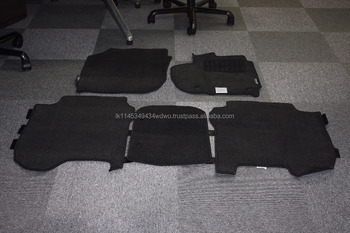 Used 10/10 Honda Fit Shuttle Floor Mats / Carpets Full Set