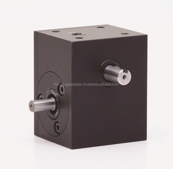 Small worm gearbox WS65R-030