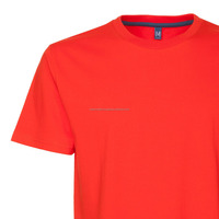 Plain cheap orange colour t shirt