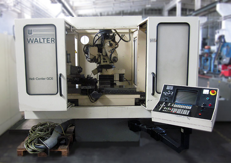 TOOL AND CUTTER GRINDER WALTER HELI CENTER GC-6