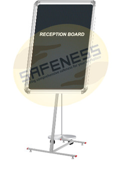 Reception Board Stand Sql-sgn-nb-fch-005
