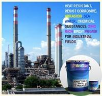 Epoxy Primer with Zinc Rich Heat resistant excellent for Steel surfaces JONES ZIN-R