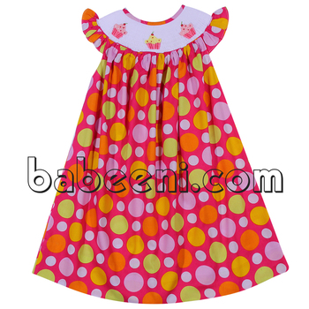 34298d4b1426 Pretty Cupcake Hand Smocked Bishop Dress - Buy Smocked Bishop ...