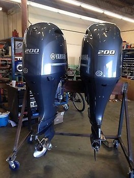 Free shipping for used yamaha 200 hp 4 stroke outboard for Yamaha 200 outboard for sale