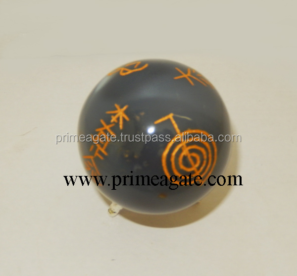 Latest Banded Agate Engraved Usai Reiki Spheres For Sale | New Age  Metaphysical Healing Agate Balls - Buy Wholesale Engrave Reiki  Spheres,Wholesale