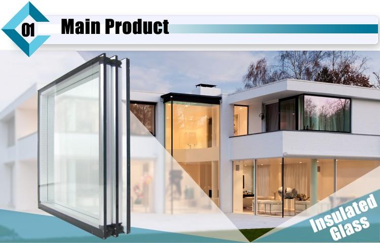 China Fábrica 6mm Triângulo Janela Preço de Vidro / Vidro para Vidros