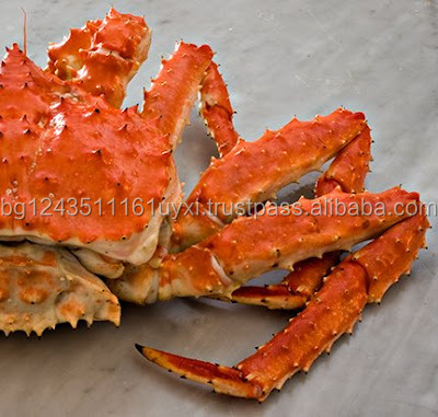 Quality live king crab Meat