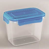 Plastic food storage container/Comfortable grips are easy to open and close-Plastic food container-L1194