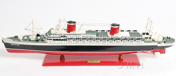 SS UNITED STATES L80 cm - Wooden ship model
